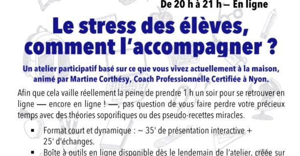 Le stress des élèves, comment l'accompagner ?